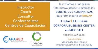 Sesión Informativa DIRCAP para Instructores de Capacitación en Mexicali