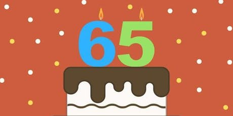 Turning 65 Workshop tickets