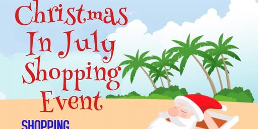 Christmas In July Shopping Event