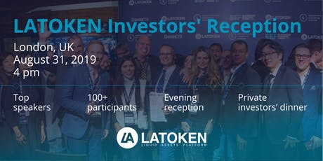 LATOKEN Investors' Reception in London, UK tickets