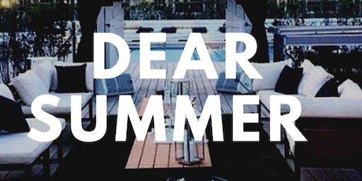 Dear Summer Hamptons pool party