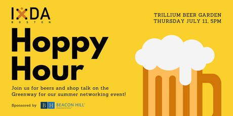 IxDA Boston Presents: UX Hoppy Hour @ Trillium Beer Garden tickets