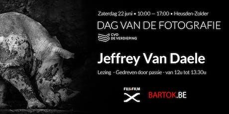Lezing - Jeffrey Van Daele - Gedreven door passie tickets