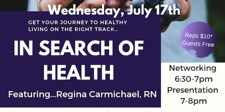 In Search of Health - Tomball tickets