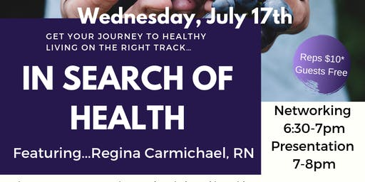 In Search of Health - Tomball