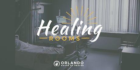 Healing Rooms tickets