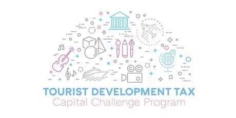 Tourist Development Tax Capital Challenge Grant Program (TDT) Application Workshop tickets