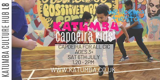 Capoeira For All Family Workshop - Katumba Wellbeing Fiesta