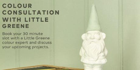 Little Greene Colour Consultations at Brewers Tunbridge Wells tickets