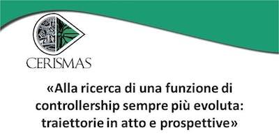 CERISMAS - WORKSHOP - Il controller come business partner