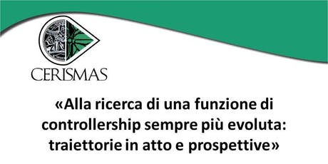 CERISMAS - WORKSHOP - Il controller come business partner  biglietti