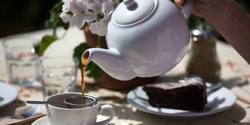 Exploring Tea at Petersham Nurseries