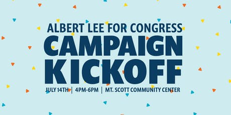 Albert Lee for Congress Campaign Kickoff tickets
