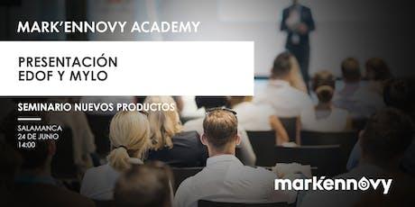 Presentación EDOF & MYLO - Salamanca (seminario presencial 30 plazas) entradas
