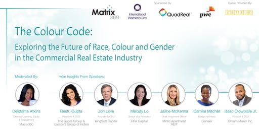 The Colour Code: Exploring Race, Colour & Gender In The Commercial Real Estate Industry