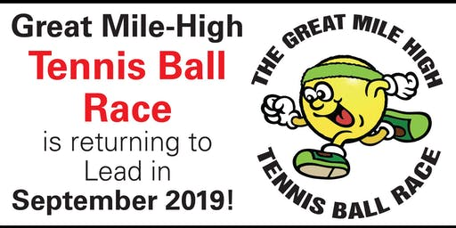 Great Mile High Tennis Ball Race