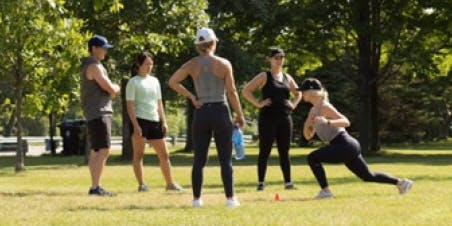 #LVLUP Free Outdoor Bootcamp