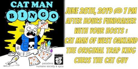 Cat Man Bingo! tickets