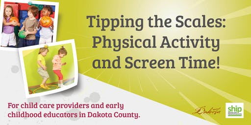 Tipping the Scales: Physcial Activity & Screen Time