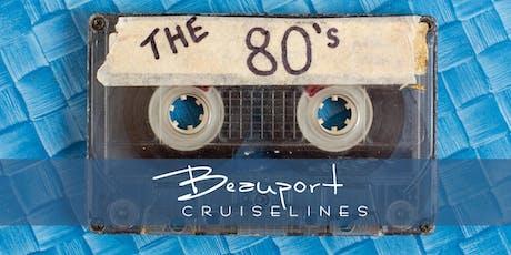 80's Dinner Cruise tickets