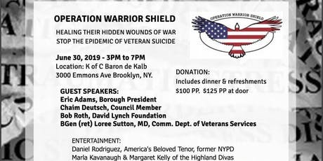 Operation Warrior Shield Supports Brooklyn tickets