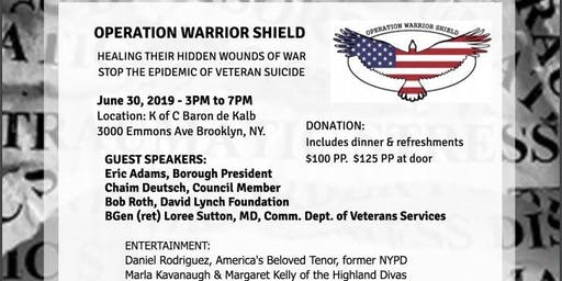 Operation Warrior Shield Supports Brooklyn
