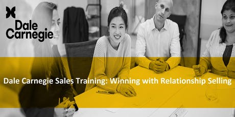 Dale Carnegie Sales Training: Winning with Relationship Selling (Course Runs 3 Consecutive Days) tickets