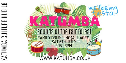Sounds of the Rainforest Family Drumming - Katumba Wellbeing Fiesta