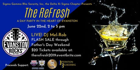 The ReFresh - A Day Party in the Heart of Evanston tickets