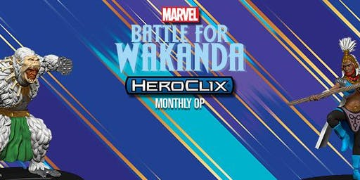 HeroClix Weekly Tournaments 2019