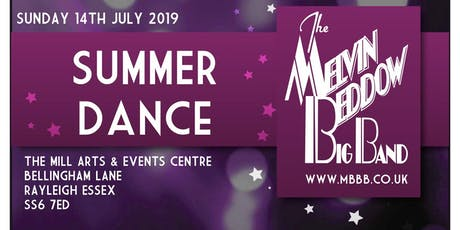 Summer Dance featuring The Melvin Beddow Big Band tickets