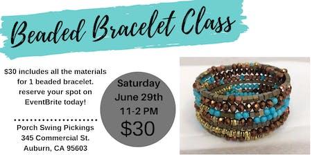 Beaded Bracelet Class tickets