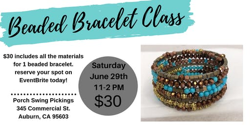 Beaded Bracelet Class