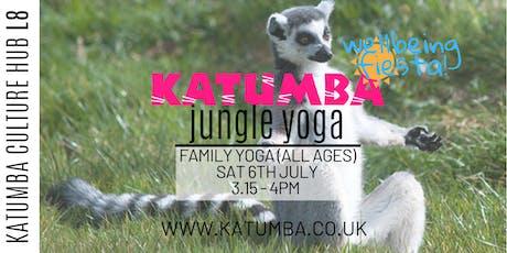 Family Jungle Yoga - Katumba Wellbeing Fiesta tickets