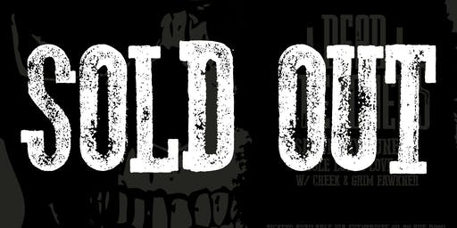 (SOLD OUT) Dead Preachers DEBUT SHOW