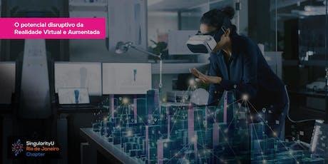 O potencial disruptivo da Realidade Virtual ingressos
