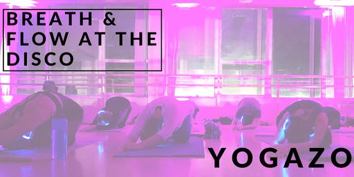 Breathe & Flow at the Disco
