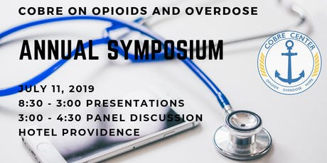 COBRE on Opioids and Overdose Symposium tickets