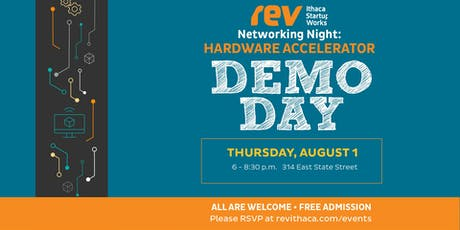Networking@Rev: Hardware Accelerator Demo Day tickets