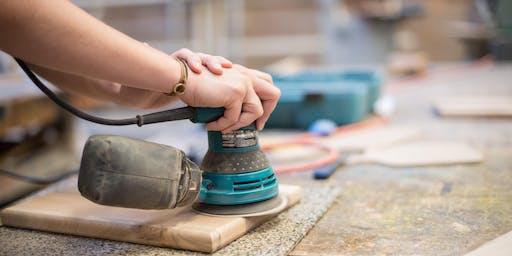 2 Day Make It Take It: Mixed Hardwood Cutting Board