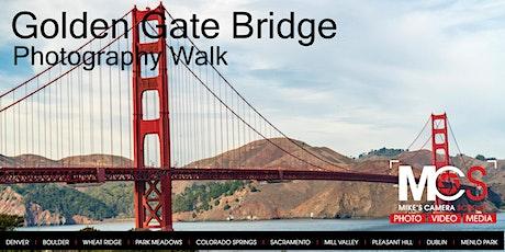 Golden Gate Bridge: Daytime Photography Walk tickets