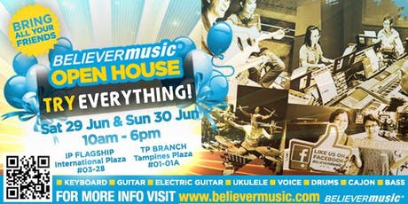 ☆ TryEVERYTHING ☆ Believer Music Open House 2019 tickets