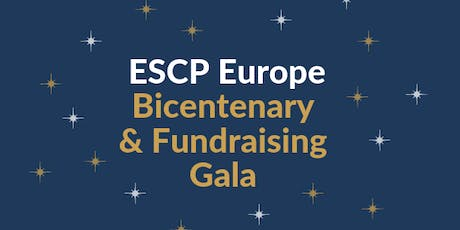 ESCP Europe Bicentenary Fundraising Gala Dinner tickets