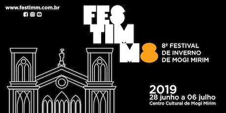 """FESTIMM8 - 06/07 - Musical Tom Jobim """"Meu Maestro Soberano"""" ingressos"""