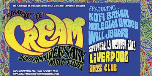 The Music Of Cream - 50th Anniversary World Tour (Arts Club, Liverpool)