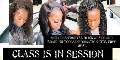 Frontal Quickweave and Braiding Techniques Course