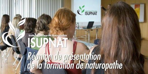 Présentation cursus Isupnat