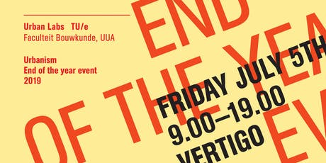Urbanism End of the year event 2019 tickets