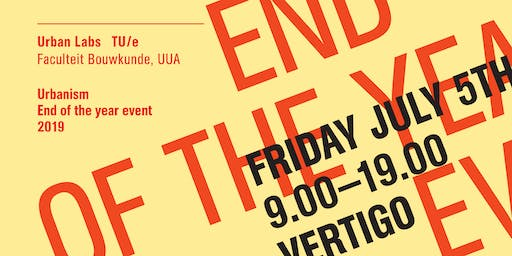 Urbanism End of the year event 2019