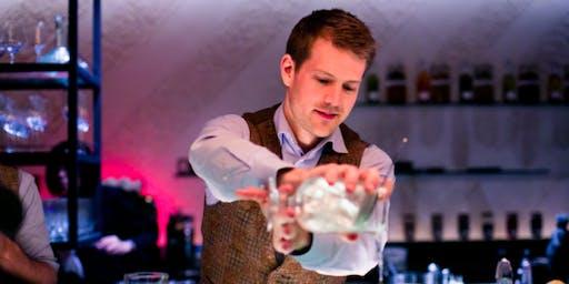 Gin Mixology Class with Hendrick's Gin Brand Ambassador - Erik Andersson
